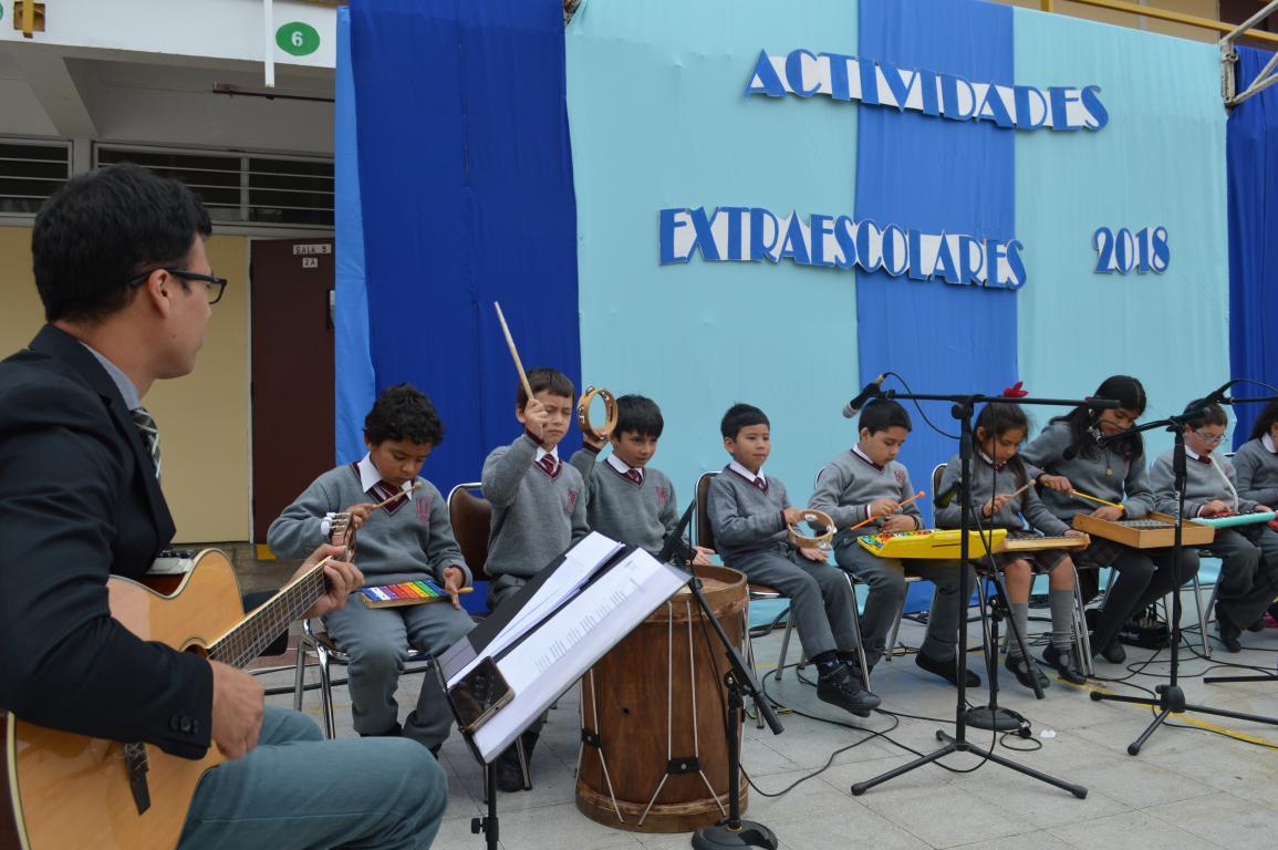 Clausura Actividades Extra Escolares 2018